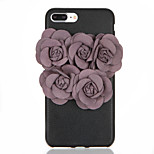 For DIY Flower Back Cover Case Soft TPU for Apple iPhone 7 Plus iPhone 7 iPhone 6s Plus iPhone 6 Plus iPhone 6s iPhone 6