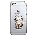 For Ultra-thin Transparent Case Back Cover Case Animal Soft TPU for iPhone 7 Plus  7  6s Plus 6 Plus  6s 6 se 5s 5