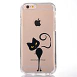 Per Transparente Fantasia/disegno Custodia Custodia posteriore Custodia Gatto Morbido TPU per AppleiPhone 7 Plus iPhone 7 iPhone 6s Plus
