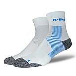 Спортивные носки Подследники Муж. Пригодно для носки Дышащий Впитывает пот и влагу Удобный Защитный Сжатие видеоизображений дляОтдых и