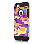 For IPhone 7 Plus 7 Cover Case Shockproof Back Cover Case Camouflage Color Hard PC  6s Plus 6 Plus  6s 6 5s