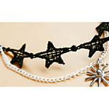 Anklet/Bracelet Heart Friendship Fashion Alloy Gold Women's Jewelry 1pc