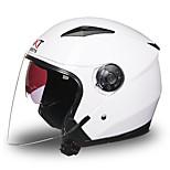 GXT 512 Motorcycle Half Helmet Dual-Lens Harley ABS Sunscreen Anti-Ultraviolet Helmet Unisex L/XL