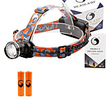 U'King® ZQ-X830B#4 CREE XML-T6 LED 2000LM Zoomable 180 Rotate 3Modes Headlamp Bike Light Kits with Rear Safety LED