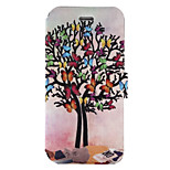 For iPhone 7Plus 7 PU Leather Material Butterfly Tree Pattern Painted Phone Case 6s Plus 6Plus 6S 6 SE 5s 5