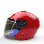 BEON B-220 Motorcycle Summer Helmet Half Helmet Harley Helmet Anti-Fog Anti-UV Security Helmet Unisex Fashion