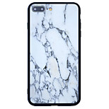 For Pattern Case Back Cover Case Marble Hard Acrylic for  iPhone 7 Plus  7  6s Plus 6 Plus  6s 6  SE 5s 5