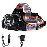 U'King ZQ-X8000B-US Cree XM-L T6 LED 2000LM 3 Mode Headlamps for Camping/Hiking/Caving Everyday Use Cycling/Bike Hunting Traveling Multifunction