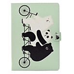 For Apple iPad Air 2 Air Case Cover with Stand Pattern Full Body Animal Hard PU Leather
