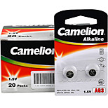 Camelion AG3 Coin Button Cell Alkaline Battery 1.5V 40 Pack
