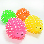 Cat Toy Dog Toy Pet Toys Ball Chew Toy Interactive Squeaking Toy Teeth Cleaning ToySqueak / Squeaking Durable Elastic Cartoon Thrust