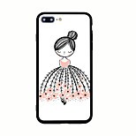 For Pattern Case Back Cover Case Cartoon Hard Acrylic for iPhone 7 Plus 7 6s Plus 6 Plus 6s 6 5s 5 SE