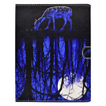 For Apple iPad 4 3 2 Case Cover with Stand Pattern Full Body Animal Hard PU Leather