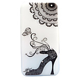 For Asus Zenfone 3 ZE520KL ZE552KL Case Cover High Heels Pattern Painted Point Drill Scrub TPU Material Luminous Phone Case