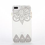 For Glow in the Dark Pattern Case Back Cover Case Mandala Soft TPU for iPhone7 7plus 6 6Splus 5 5S
