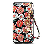 For Embossed Pattern DIY Case Back Cover Case Flower Soft TPU for Apple iPhone 7 Plus  7  6s Plus 6 Plus  6s 6