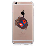 Per Transparente Fantasia/disegno Custodia Custodia posteriore Custodia Con logo Apple Morbido TPU per AppleiPhone 7 Plus iPhone 7 iPhone