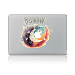 For MacBook Air 11 13/Pro13 15/Pro With Retina13 15/MacBook12 Star Moon Decorative Skin Sticker