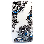 For Asus Zenfone 3 ZE520KL ZE552KL Case Cover Diagonal Flower Pattern Painted Point Drill Scrub TPU Material Luminous Phone Case