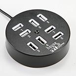 USB 2.0 to Multiple 8 USB 2.0 Converter Adapter HUB White Black