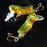 5 pcs Pececillo Colores Aleatorios g/Onza mm pulgada,Plástico Pesca en General