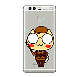 For Huawei P10 P9 Transparent Pattern Case Back Cover Case Cartoon Soft TPU for Huawei P10 Plus P9 Plus P9 Lite P8 P8 Lite Mate8 Mate9 Mate9 Pro