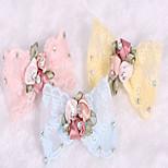 Cat Dog Hair Accessories Yellow Blue Pink Dog Clothes Summer Spring/Fall Princess Cute Fashion Birthday Wedding