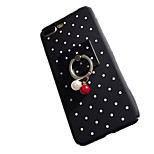 For IPhone 7Plus 7 Ring Holder DIY Case Back Cover Case Geometric Pattern Hard PC 6s Plus 6 Plus 6s 6