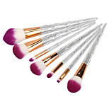 7 Contour Brush Concealer Brush Foundation Brush Synthetic Hair Professional Plastic Face UBUB