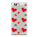 For Huawei P10 P9 Transparent Pattern Case Back Cover CaseHeart Soft TPU for Huawei P10 Plus P9 Plus P9 Lite P8 P8 Lite Mate8 Mate9 Mate9 Pro