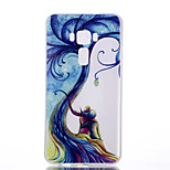 For Asus Zenfone 3 ZE520KL ZE552KL Tree Pattern Relief Luminous TPU Material Phone Case