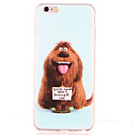 For Shockproof Pattern Case Back Cover Case Dog Soft TPU for Apple iPhone 6s Plus iPhone 6 Plus iPhone 6s iPhone 6 iPhone SE/5s iPhone 5