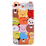 For Apple iPhone 7 7 Plus 6s 6 Plus Case Cover Cartoon Pattern IMD Process Thicker TPU Material Fruit Color Soft Case Phone Case