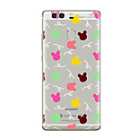 For Huawei P10 P9 Transparent Pattern Case Back Cover Case Tile Soft TPU for Huawei P10 Plus P9 Plus P9 Lite P8 P8 Lite Mate8 Mate9 Mate9 PrP9 Lite