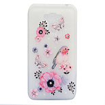For Asus Zenfone 3 ZE520KL ZE552KL Case Cover Flowers And Birds Pattern Painted Point Drill Scrub TPU Material Luminous Phone Case