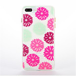 For Glow in the Dark Pattern Case Back Cover Case Flower Soft TPU for iPhone7 7plus 6 6Splus 5 5S