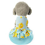 Dog Coat Dog Clothes Summer Cartoon Cute Casual/Daily