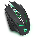 SADES Q7 gaming mouse with ergonomic mouse shape Laser tracking highest level 2400 DPI
