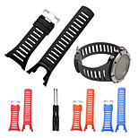 For SUUNTO AMBIT 3 PEAK/Ambit 2/Ambit Luxury Rubber Watch Replacement Band Strap