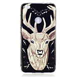 For Huawei P8 Lite(2017) P10 Case Cover Deer Pattern Luminous TPU Material IMD Process Soft Case Phone Case P10 Lite P9 Lite P8 Lite