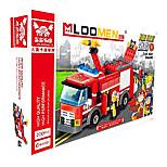 Camión de bomberos Juguetes Juguetes de coches 1:25 Plástico Rojo Modelismo y Construcción