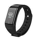 Waterproof Temperature Monitor Wrist Heart Rate Health Monitor Sleeping Fitness Tracker Watch Call Reminder Bluetooth Sports Photo Wristband Pedometer
