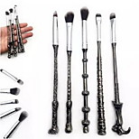 5 Makeup Brush Set Synthetic Hair Metal Eye Others