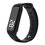 CD5 Smart Bracelet Calories Burned Pedometers Health Care Alarm Clock Distance Tracking Temperature Display Information Sleep Tracker USB
