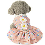 Dog Dress Dog Clothes Winter Summer Spring/Fall PrincessCute Classic Fashion Casual/Daily Birthday Holiday Wedding Reversible Halloween