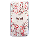 For LG G6 X Power X Screen Case Cover Flowers And Birds Pattern Painted High Penetration TPU Material Soft Case Phone Case
