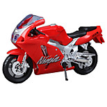 Motorcycle Toys Car Toys 1:18 ABS Red Model & Building Toy