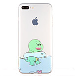 For Transparent Pattern Case Back Cover Case Cartoon Soft TPU for Apple iPhone 7 Plus iPhone 7 iPhone 6s Plus iPhone 6 Plus iPhone 6s