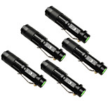 UKing ZQ-X965BX5 1500LM Cree XPE SK68 Zoomable Flashlight