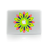 For MacBook Air 11 13/Pro13 15/Pro With Retina13 15/MacBook12 Sunflowers Decorative Skin Sticker Glow in The Dark